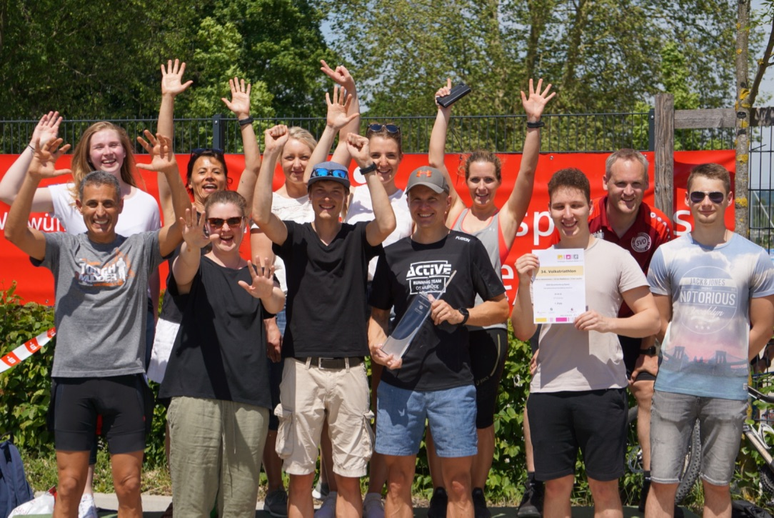 Staffel-Triathlon in Melle